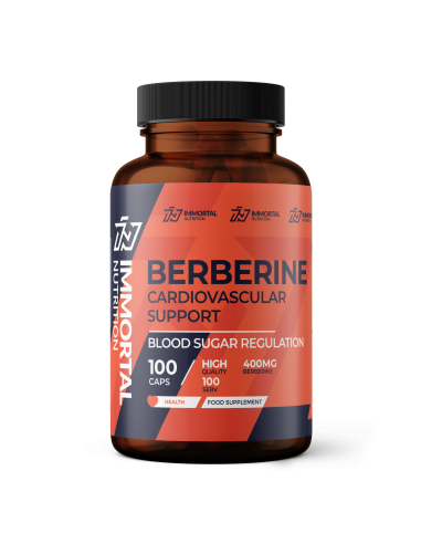 Berberine Berberyna 400mg 100 kaps.