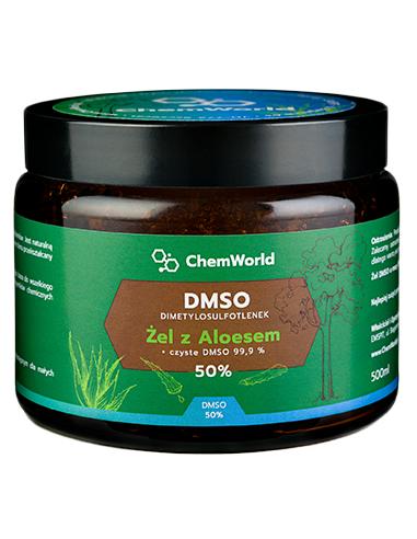 Żel DMSO z Aloesem 50% 500ml