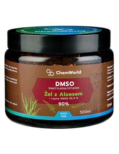 Żel DMSO z Aloesem 90% 500ml